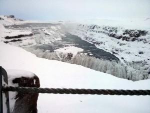 Der berühmteste Wasserfall Islands: Gullfoss