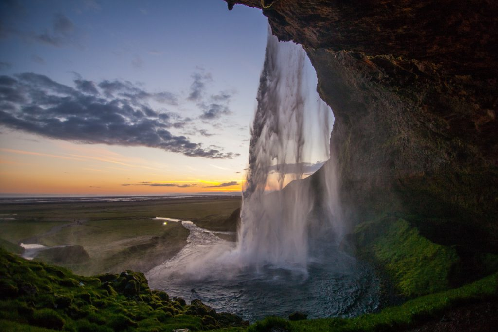 Seljalandsfoss in Island