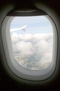 Gute Aussichten beim Abflug von Berlin