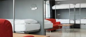 Ein Zimmer im Hlemmursquare Hostel in Reykjavík