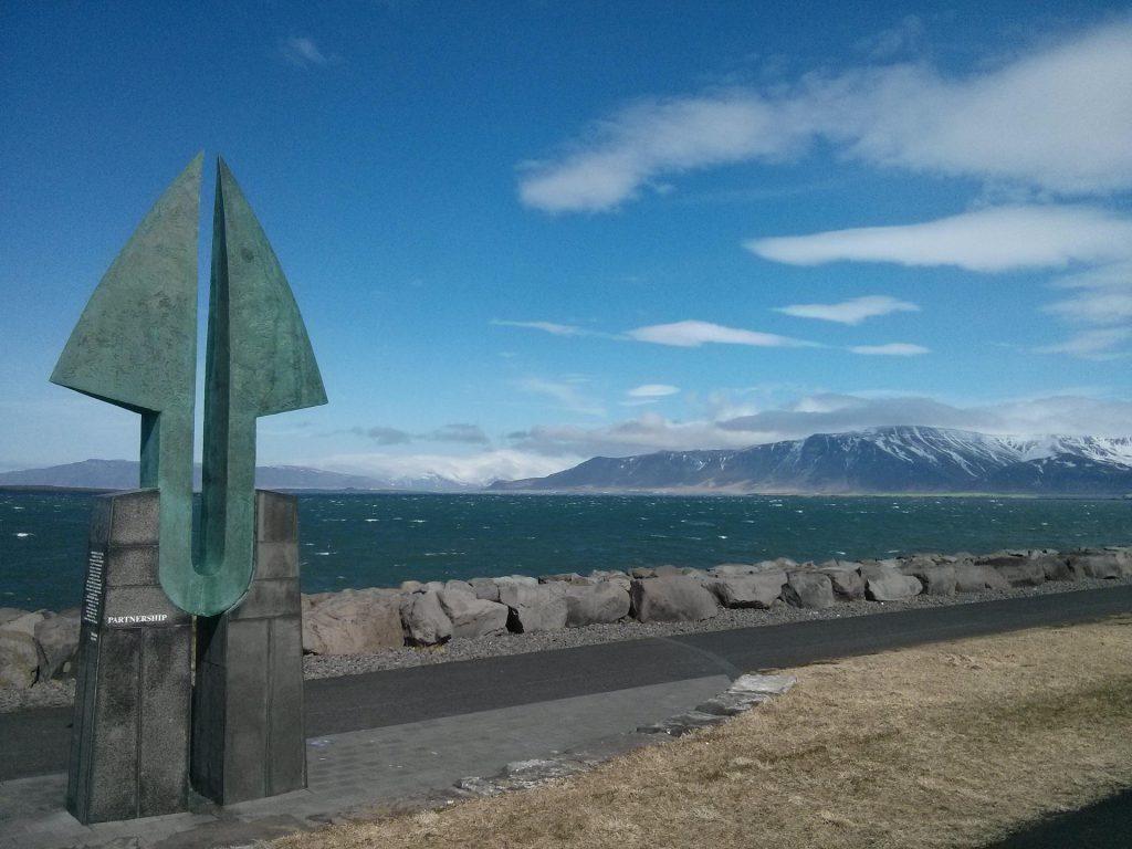 Island Foto Symbol Reykjavik Meer