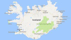 Island bei Google Maps