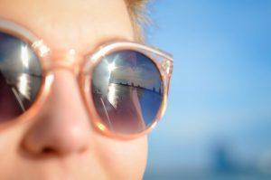 Sonnenbrille - Auch im Winter eine gute Idee