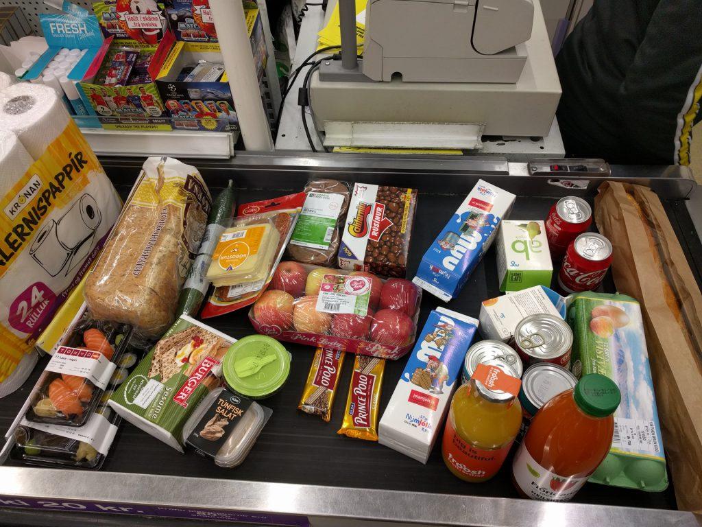Island Shopping Einkauf Supermarkt Kosten Preise