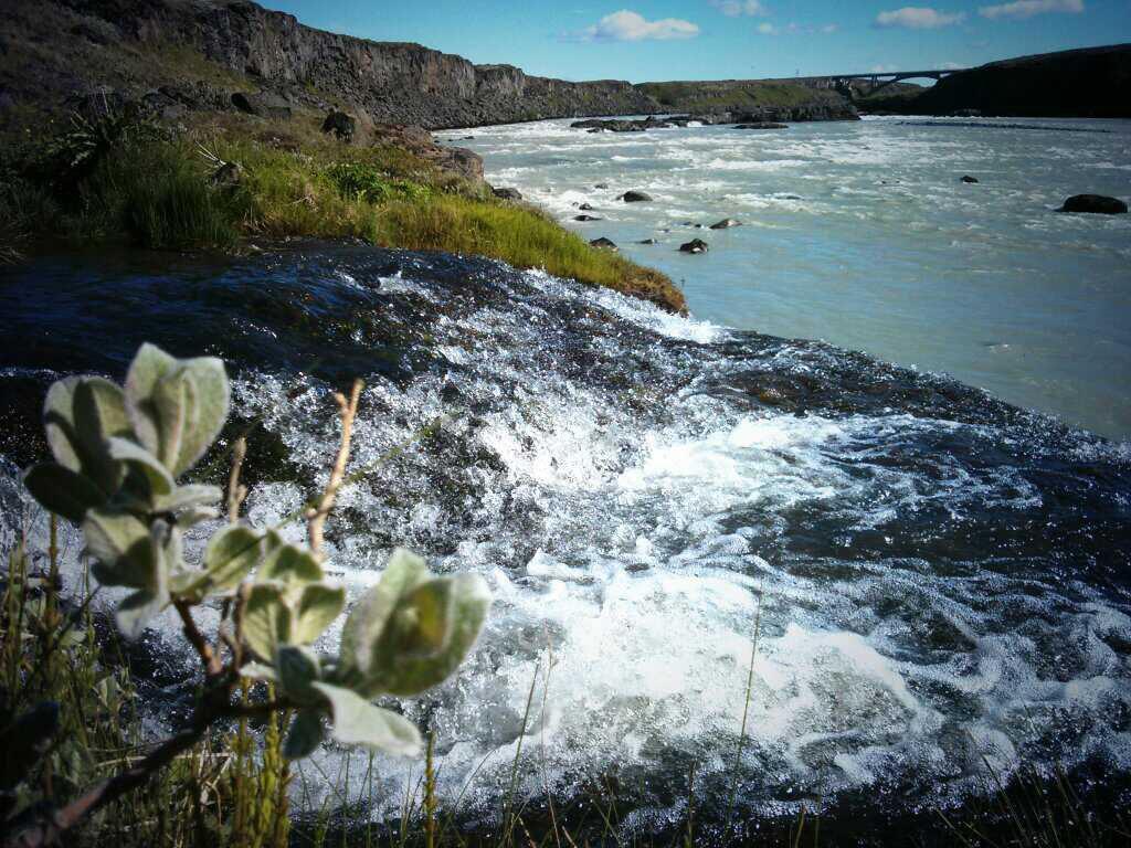 Wasserfall Urriðafoss in Island