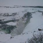 Wasserfall in Island: Gullfoss
