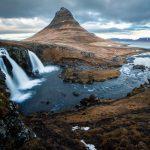 Wasserfall in Island: Kirkjufellsfoss