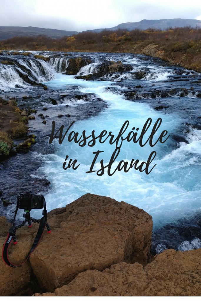 Vollständige Liste aller Wasserfälle in Island mit Karte