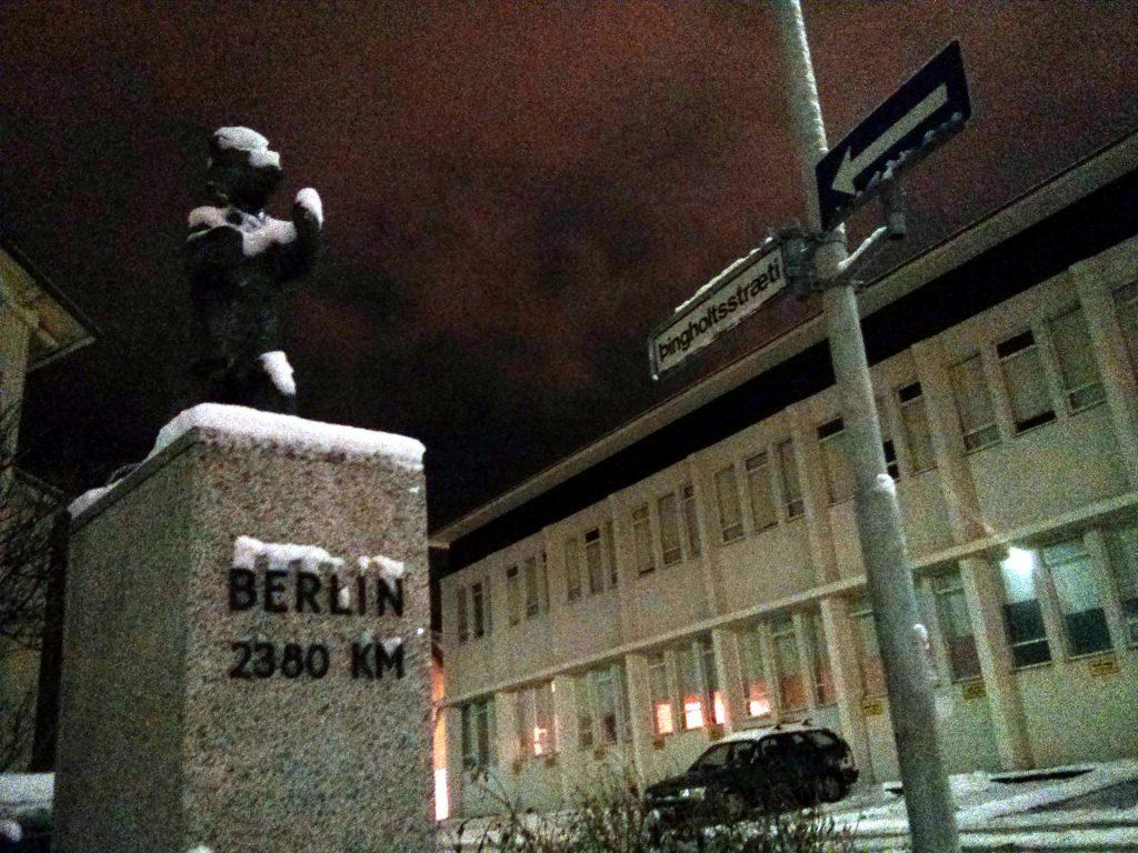 Schon im Herbst kann in Island Schnee liegen. Trotzdem eine tolle Reisezeit…