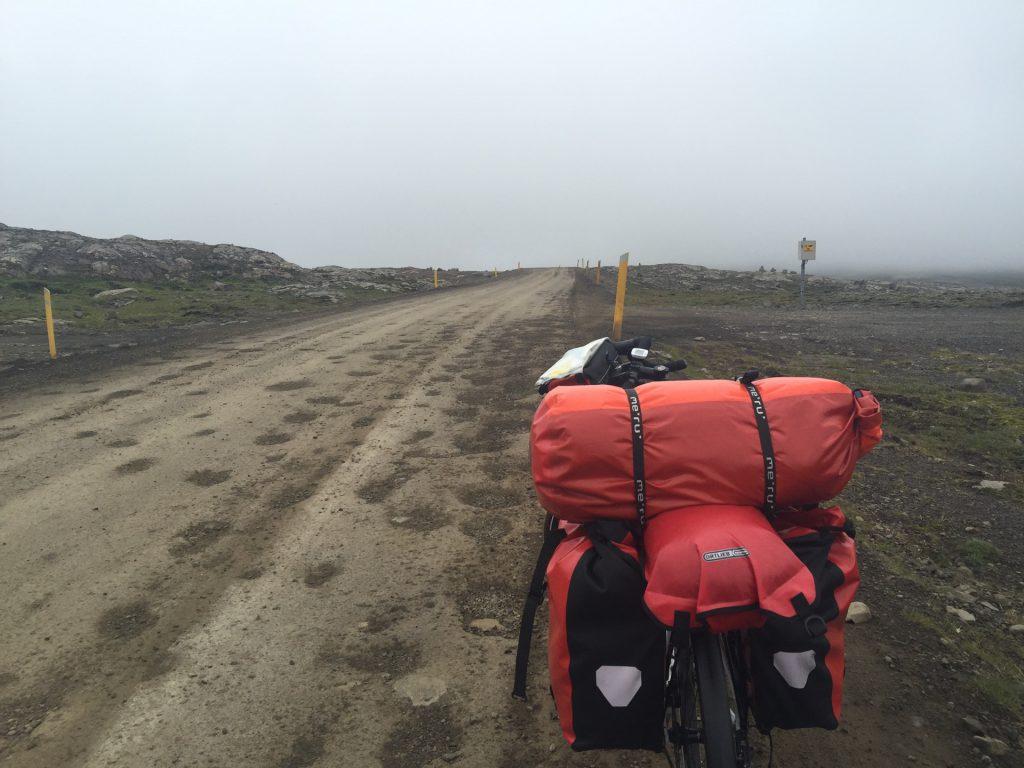 Mit dem Fahrrad durch Island