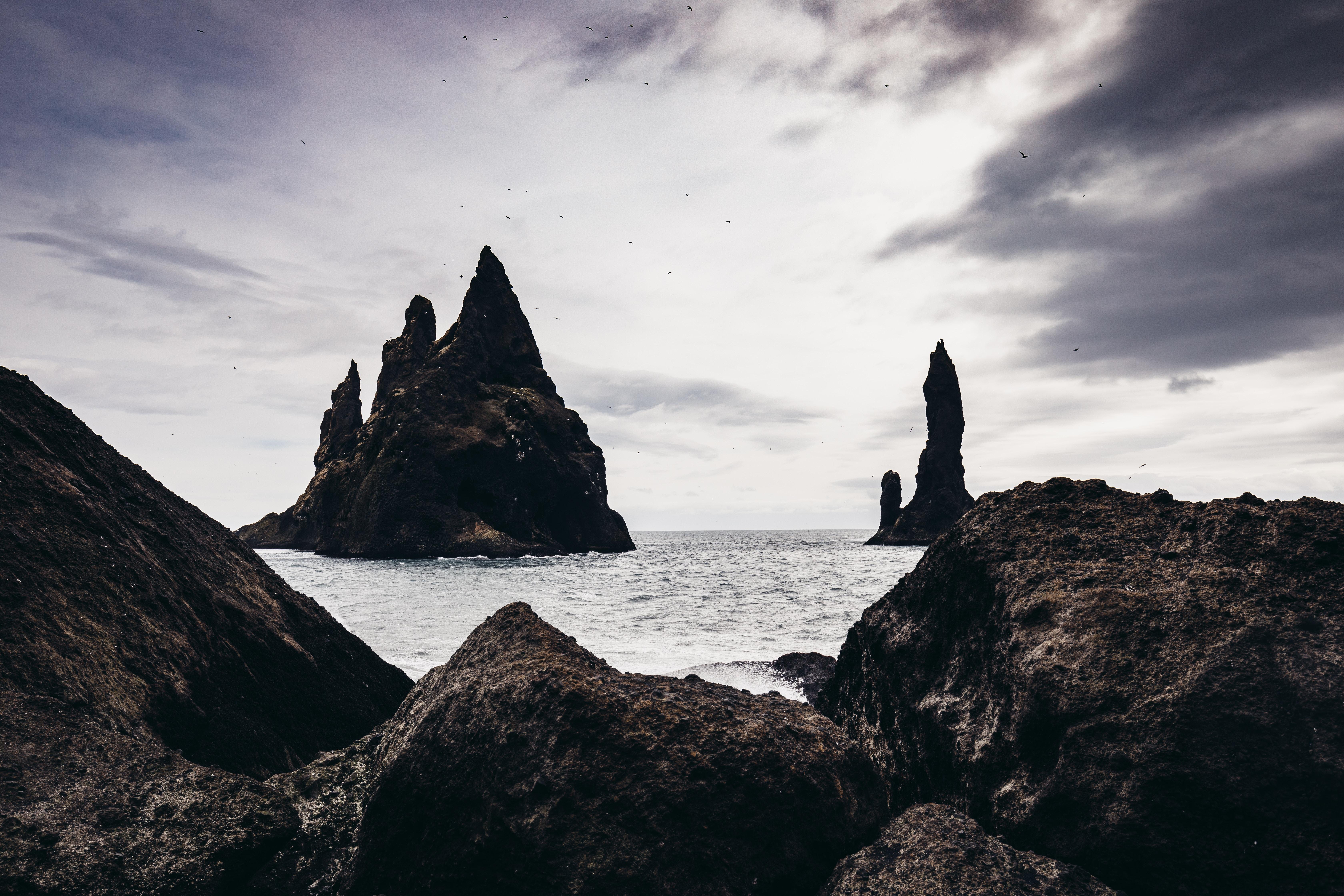 Reynisfjara - Der schwarze Strand von Island