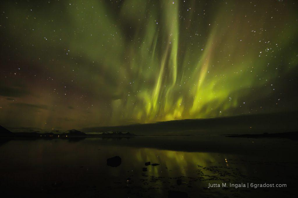 6 Grad Ost - Aurora Borealis in Island