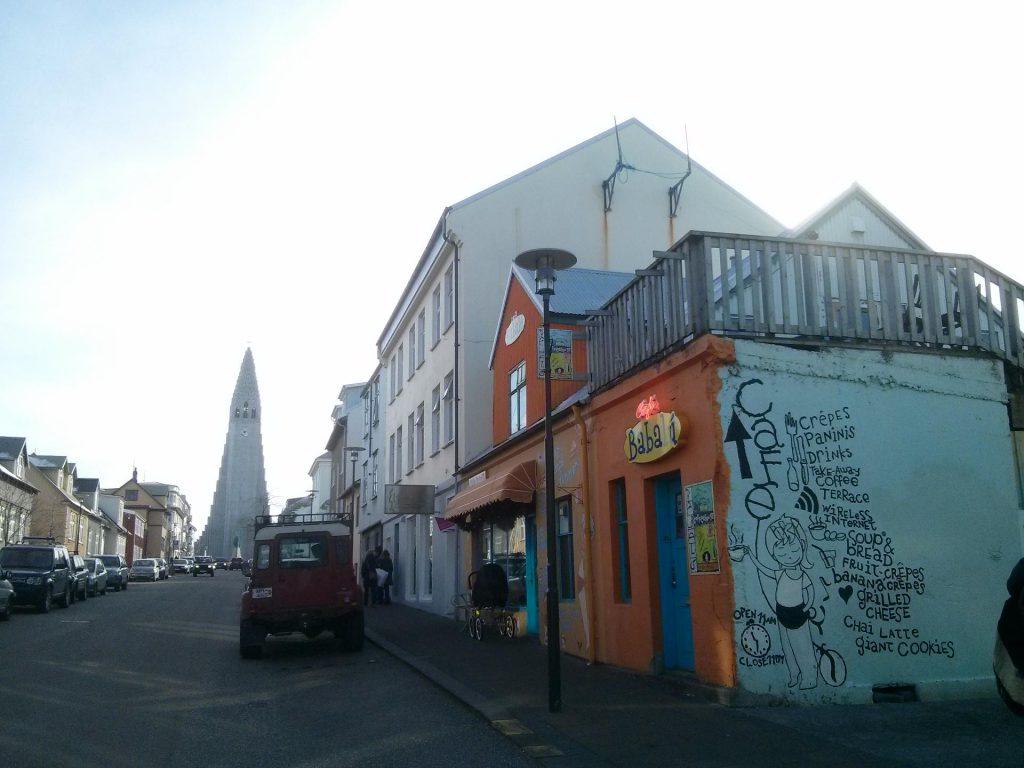 Das Café Babalu in Reykjavík