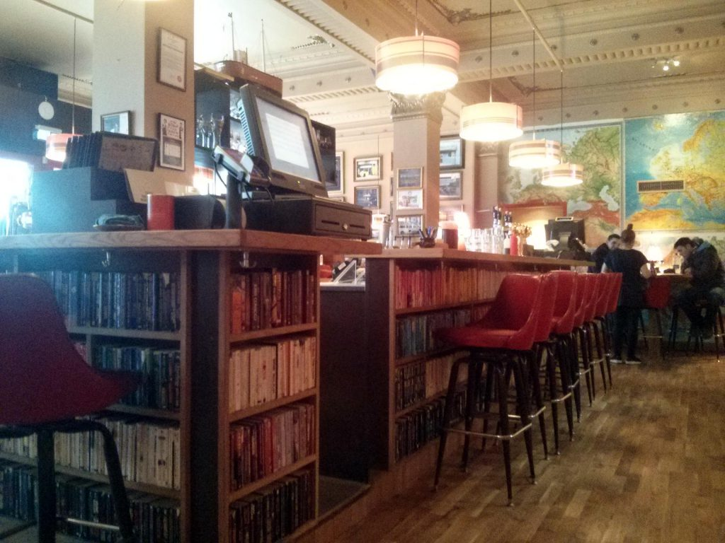 Das Café / Restaurant Laundromat in Reykjavík