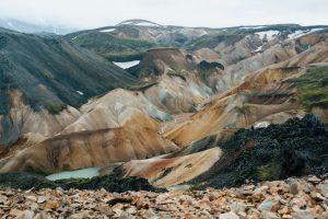 Die Farbspiele von Landmannalaugar in Island