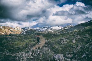 Wandern rund um Landmannalaugar in Island