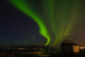 Nur im Winter in Island: Nordlichter