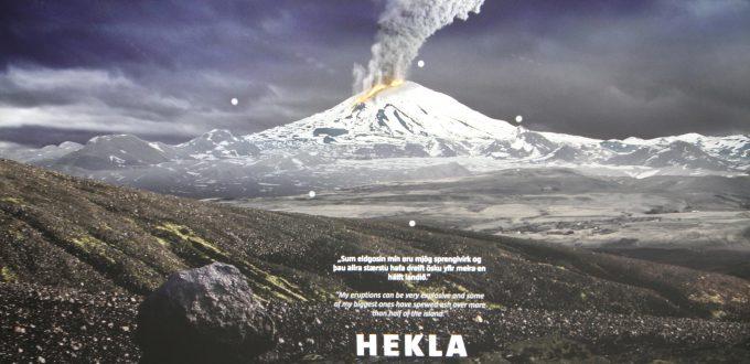 Lava Center Island Vulka Hekla