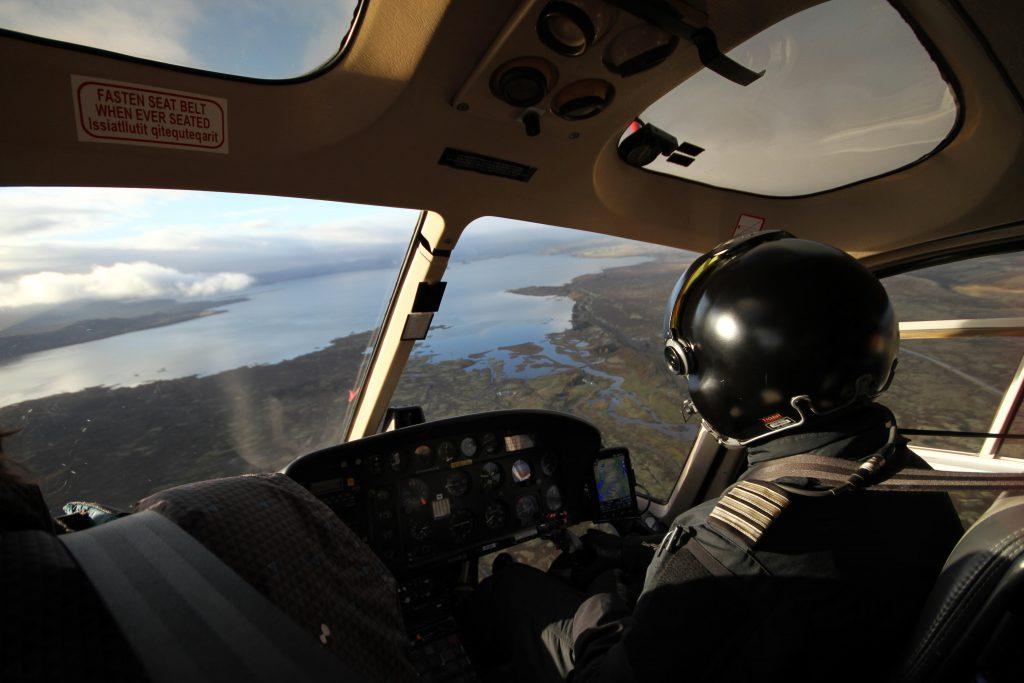 Island Rundflug Hubschrauber Helicopter Flight