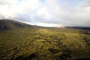 Island Rundflug mit dem Hubschrauber: Die Bergkette Bláfjöll