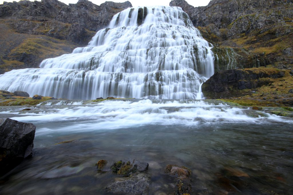 Dynjandi - The biggest waterfall in the west fjords of Iceland