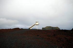 Urðaviti - Wandern zum Leuchtturm auf neuem Land von Heimaey