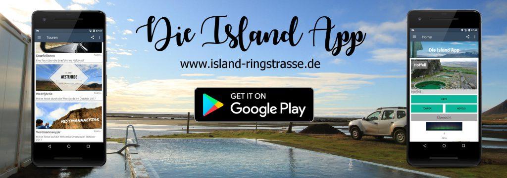 Die Island App - Dein interaktiver Reiseführer in Island