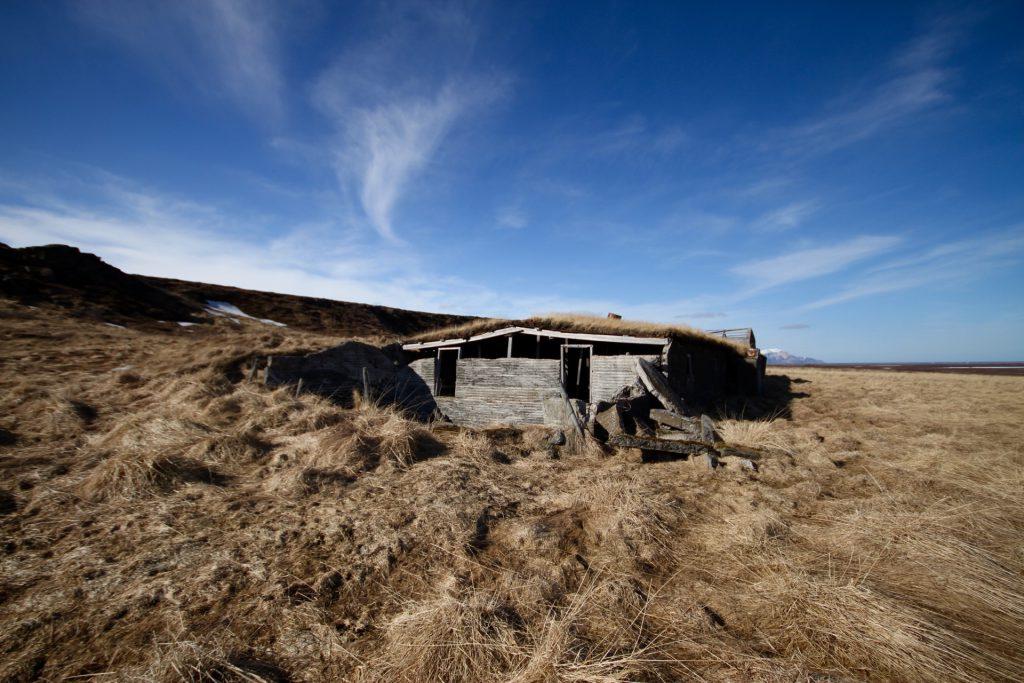 Verlassene Farm auf dem Weg nach Borgarfjörður Eystri