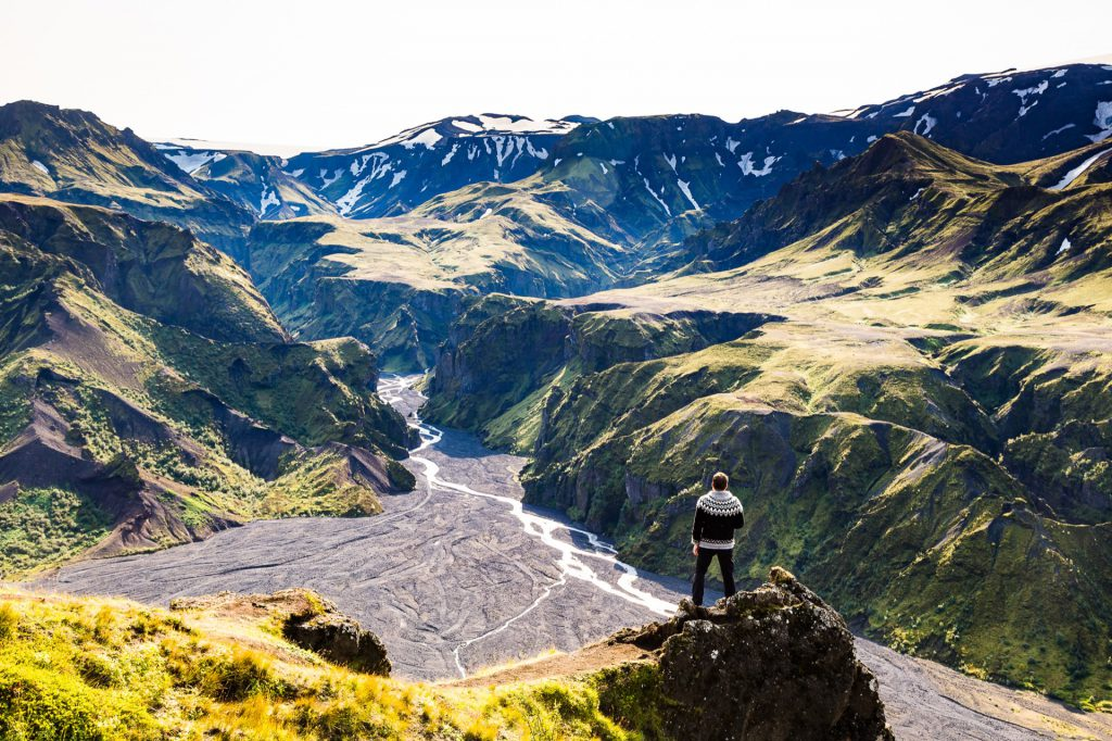 Wandern in Þórsmörk - Foto von Jeroen van Nieuwenhove