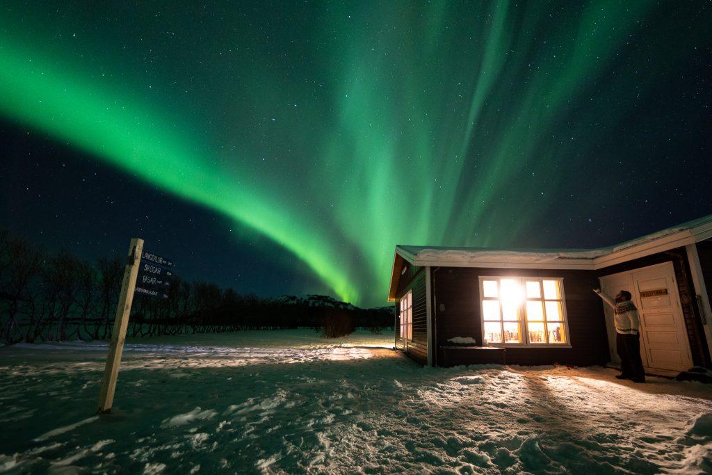 Nordlichter über Þórsmörk - Foto von Jeroen van Nieuwenhove