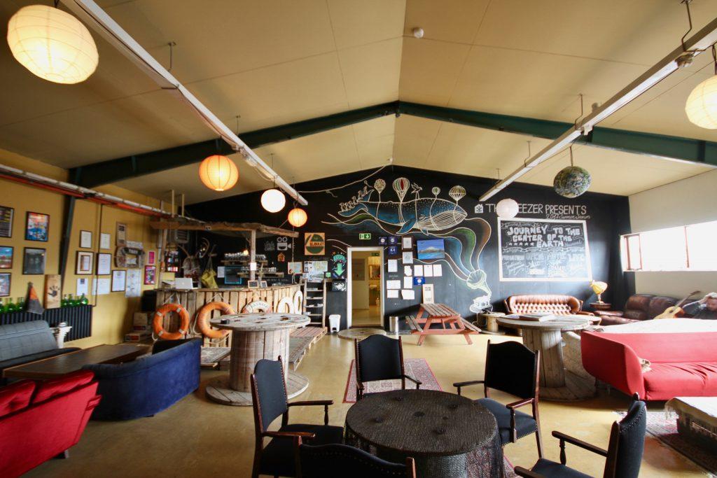 Das Freezer Hostel auf Snæfellsnes in Island