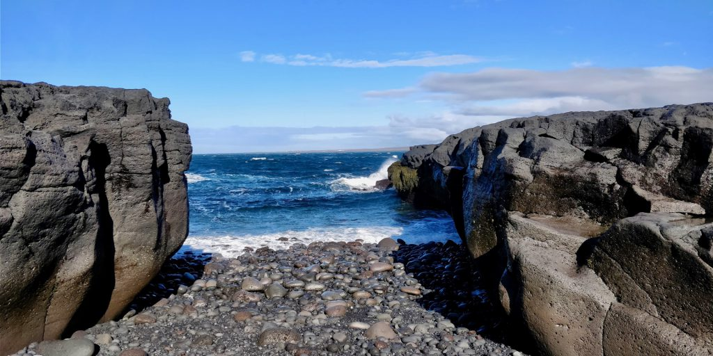 Atemberaubende Landschaften entlang der Küste von Snæfellsnes