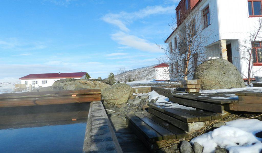 Das Gäastehaus / Farmstay Storu-Laugar im Norden von Island