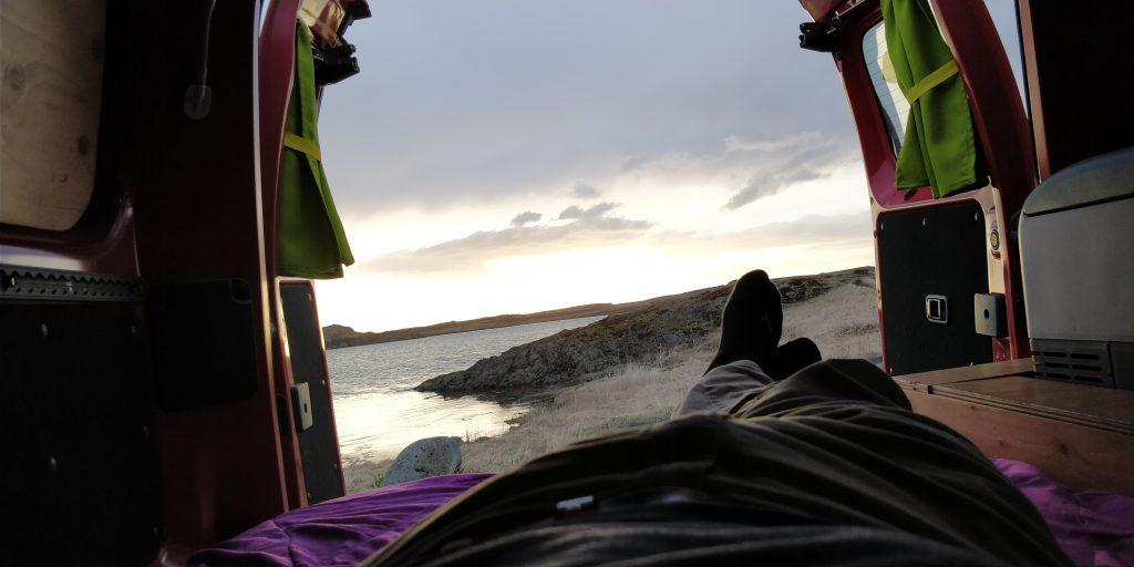 Vanlife in Island - Der Campervan und ich hatten einen schwierigen Start und sind trotzdem Freunde geworden