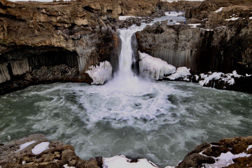 Aldeyjarfoss - Einer der schönsten Wasserfälle im Norden von Island