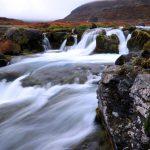Dynjandi Wasserfall in Island