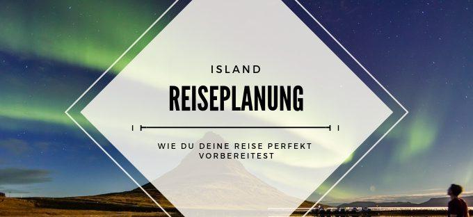Island Reiseplanung